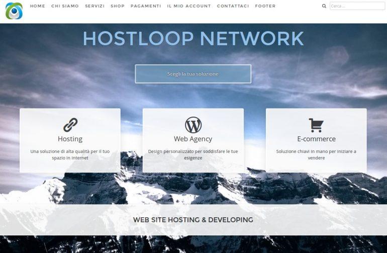 Hosting con Hostloop