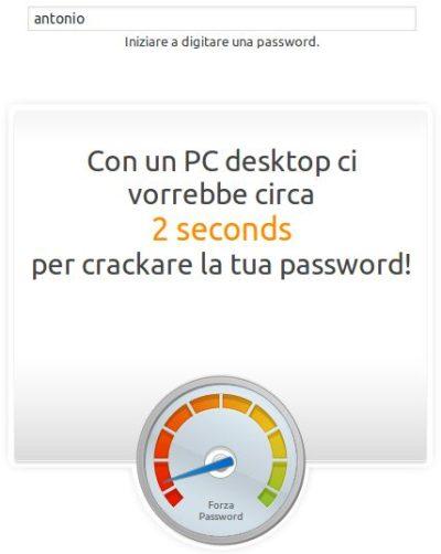 Una password sicura