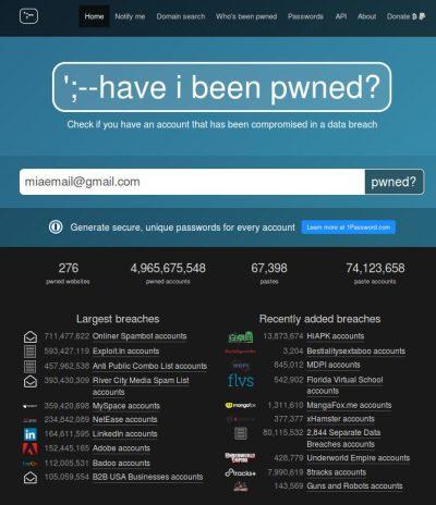 I tuoi dati di login sono compromessi?